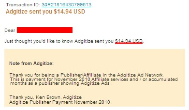 Adgitize Payment