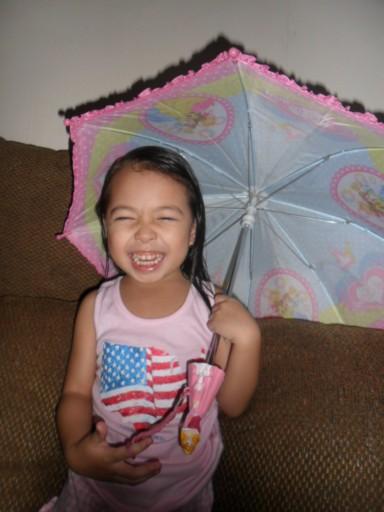 Pink Princess Umbrella
