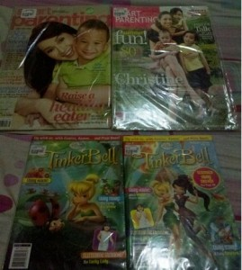 parenting and kiddie magazines